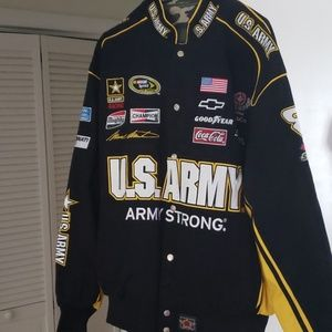 Other - Reversible Army Racing Jacket